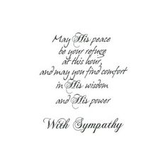 What to write in a sympathy card 50 sincere phrases to say gift may his peace m4hsunfo