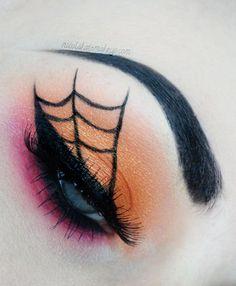 Nicola Kate Makeup: Spooky Spiderweb