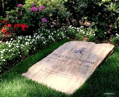 the final resting place of Ruth Bell Graham, wife of Billy Graham..Billy Graham Library, Charlotte, NC