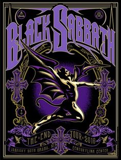 black sabbath posters - Google Search
