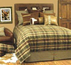 rustic bedding | The Rustler Bedding Set - Southern Creek Rustic Furnishings