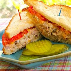 "Spicy Tuna Fish Sandwich I ""This is similar to classic tuna fish salad but with a kick. My boyfriend made this when we were out of relish and decided to substitute with jalapenos. It was awesome! I added the relish back in to give it a sweetness along with the spiciness."""