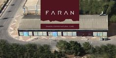 FARAN Natural cosmetic factory from above. Photograph taken by Assaf Solomon.