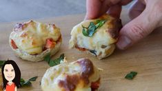Easy Mini Bread Pizza Bites & Jason Pizzino Joins Me For Lunch