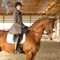 The All Weather Rider Jacket gracefully transforms to cover your saddle and protect you from the weather - a must have for the active equestrian! #Padgram
