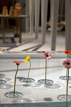 Preciosos floreros flotantes | Muy Ingenioso