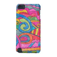 Fun Colorful Design iPod Touch 5g Case