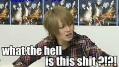 Shou/Alice Nine....That's my reaction to everything
