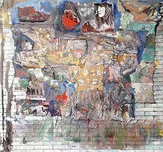 Claudio Spanti - Tous des stars - Acrylique sur toile - cm 65x69 - 2012