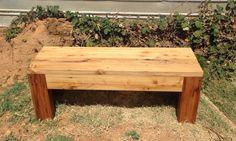 Reclaimed Antique White Pine Custom Bench #reclaimedwoodbench