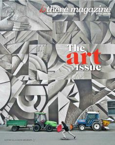 Brussels AIrline takes off this month with their Art Issue - onboard now.