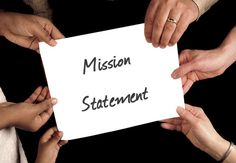 "What is a Mission Statement and why is it so important? It seems to be just some ""business plan formality"". A business Roadmap. Creating A Mission Statement, Mission Statement Examples, Family Mission Statements, Vision Statement, Self Contained Classroom, New Business Ideas, Business Goals, Business Tips, Student Teaching"