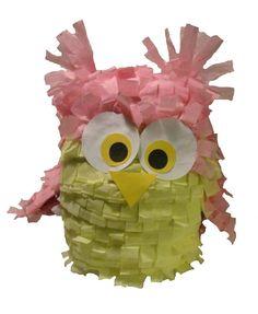 Toddler Style Owl Pinata