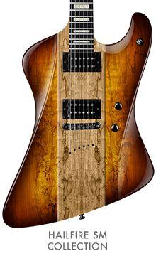 Diamond (f/k/a DBZ) Guitars 2015 Hailfire SM