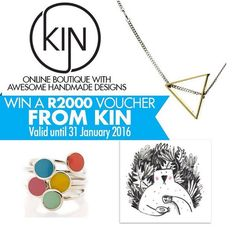 WIN: A R2000 online shopping voucher from the lovely KIN online boutique is up for grabs.  HOW TO ENTER : Let us know what present from KIN you would like to give to your friend or family member and tag them in the comments below.  Do note: The voucher valid until the end of January 2016.  Good luck!  https://www.instagram.com/p/-09VvNgpqx/?taken-by=capetownmag