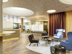 Thurgauer Kantonalbank Romanshorn, Interior Susanne Fritz Architekten, Photo © Pierre Kellenberger