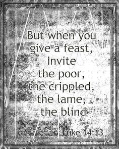 Luke 14:13