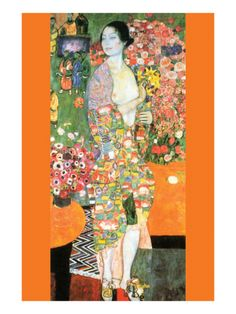 The Dancer Premium Poster by Gustav Klimt at Art.com
