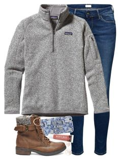 Exited 4 Youth Group Wednesday by red-velvet-n-pearls on Polyvore featuring Patagonia, Steve Madden, Kate Spade and Burt's Bees
