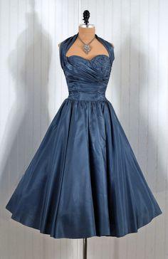 1950s Fed Perlberg dress via Timeless Vixen Vintage on Etsy