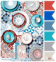 Festive Flair Color Palette- Inspire Sweetness  http://inspiresweetness.blogspot.com/