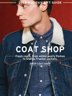 Matt Hitt for Levi's F/W 2016 collection ♥