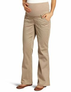 41008c5d52278 Three Seasons Maternity Women's Bedford Cord: Textured bedford cord casual  pant Tonal knit belly band Bootcut leg shape Front and back pockets Belt  loops