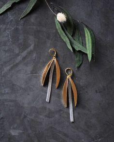 Boucles d'oreilles Eclosion - Création de bijoux par Les Délires de Lolotte