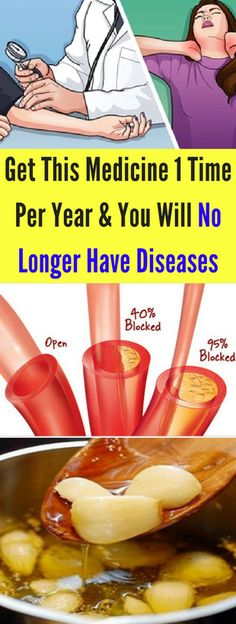 Get This Medicine 1 Time Per Year And You Will No Longer Have Diseases - infacter