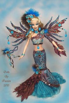 Barbie Couture Diva Fairy Muse Collector Art Doll Altered OOAK Custom Passion   eBay