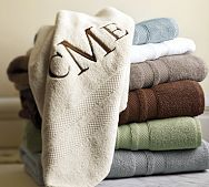 Personalized towels how cute!