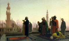 Jean-Leon Gerome - The Prayer, 1865
