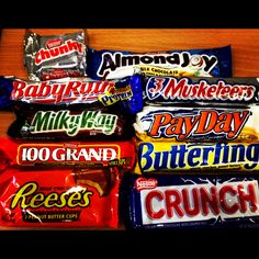 Missing American candy