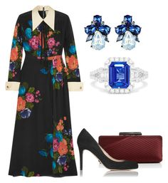 """""""Без названия #3119"""" by claire-hamilton-bristol ❤ liked on Polyvore featuring Gucci, Sondra Roberts and Effy Jewelry"""