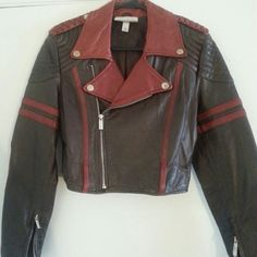 Jacket Brown and red Jean Paul limited edition jacket. Can work out price. Jean Paul Gaultier Jackets & Coats