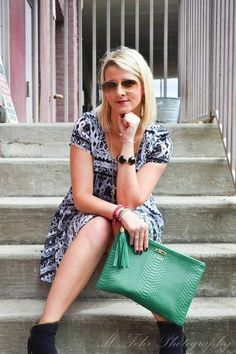 Fashion Blogger: Shotguns & Seashells in Show Me Your Mumu, Kendra Scott, Dolce Vita, and Gigi New York