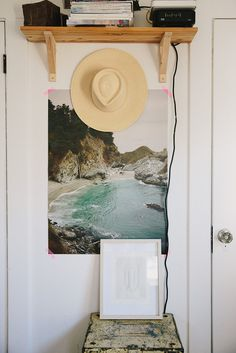 A Cup of Jo featuring Jamie Street's home with some beautiful Eventide Collective art.