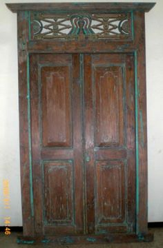 Exotic Imports Bali Gate item code : CBG001 ://.exoticimports. & Balinese Recycled Timer Natural Doors Hand Carved Green Panel ... Pezcame.Com
