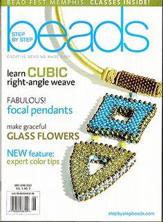 2007 May-Jun, Vol 5 No 3, Step by Step Beads Magazine (Used) at Sova-Enterprises.com