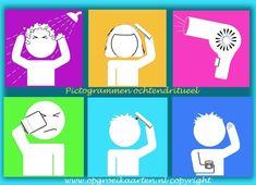 tabulka s piktogramy - hygiena