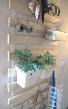 DIY Utensilo - IKEA Hack mit Lattenrost SULTAN LADE