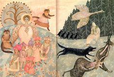 Vera Pavlova, Russian illustrator. Children's book illustration.