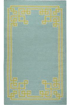 Keys Wool Rug, 2 x 3, wool, spa color -- my rug