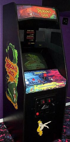 Dragon's Lair required too much patience & money for me.  I have ADHD & would rather play Double Dragon for 20 mins then this for 2 mins