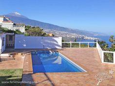 #Ferienhaus mit Privatpool und Panoramablick direkt am Meer in Santa Ursula im Norden von #Tenerife