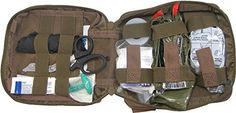 First Aid Kit By Renegade Survival for Camping and Hiking. http://www.amazon.com/Renegade-Survival/b/ref=bl_dp_s_web_12690521011?ie=UTF8&node=12690521011&field-lbr_brands_browse-bin=Renegade+Survival
