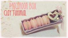 Cute Tiny Macaron Box Polymer Clay Tutorial