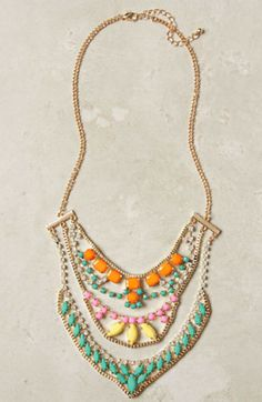 #fashion #jewelery #accessories #necklace #Anthropologie