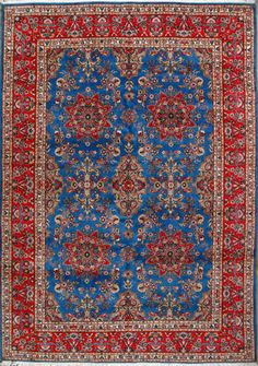 "Tabriz Persian Rug, Buy Handmade Tabriz Persian Rug 8' 2"" x 11' 8"", Authentic Persian Rug"