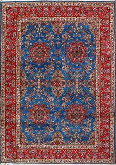 "Buy Tabriz Persian Rug 8' 2"" x 11' 8"", Authentic Tabriz Handmade Rug"